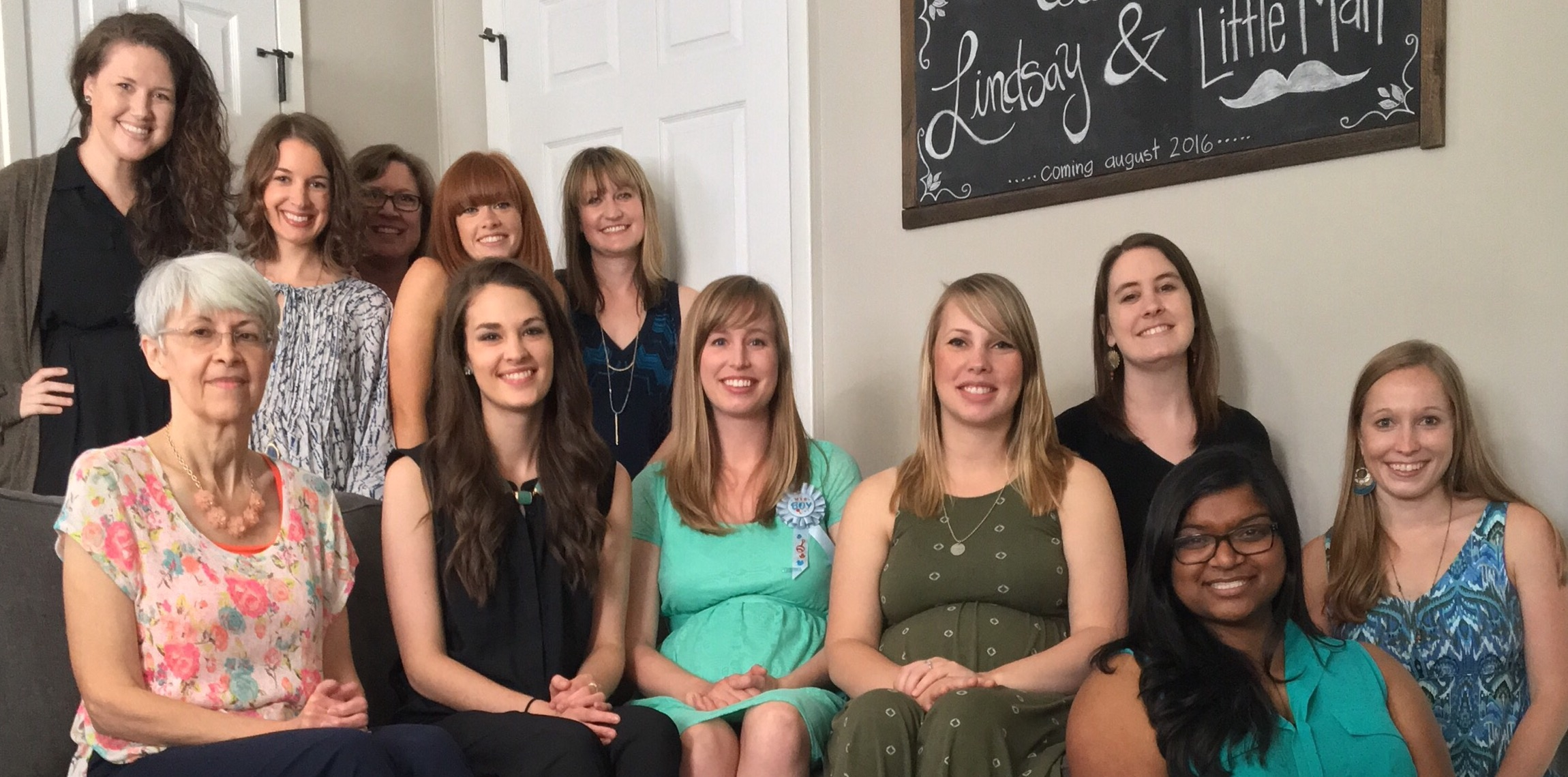 Baby Shower Group Pic