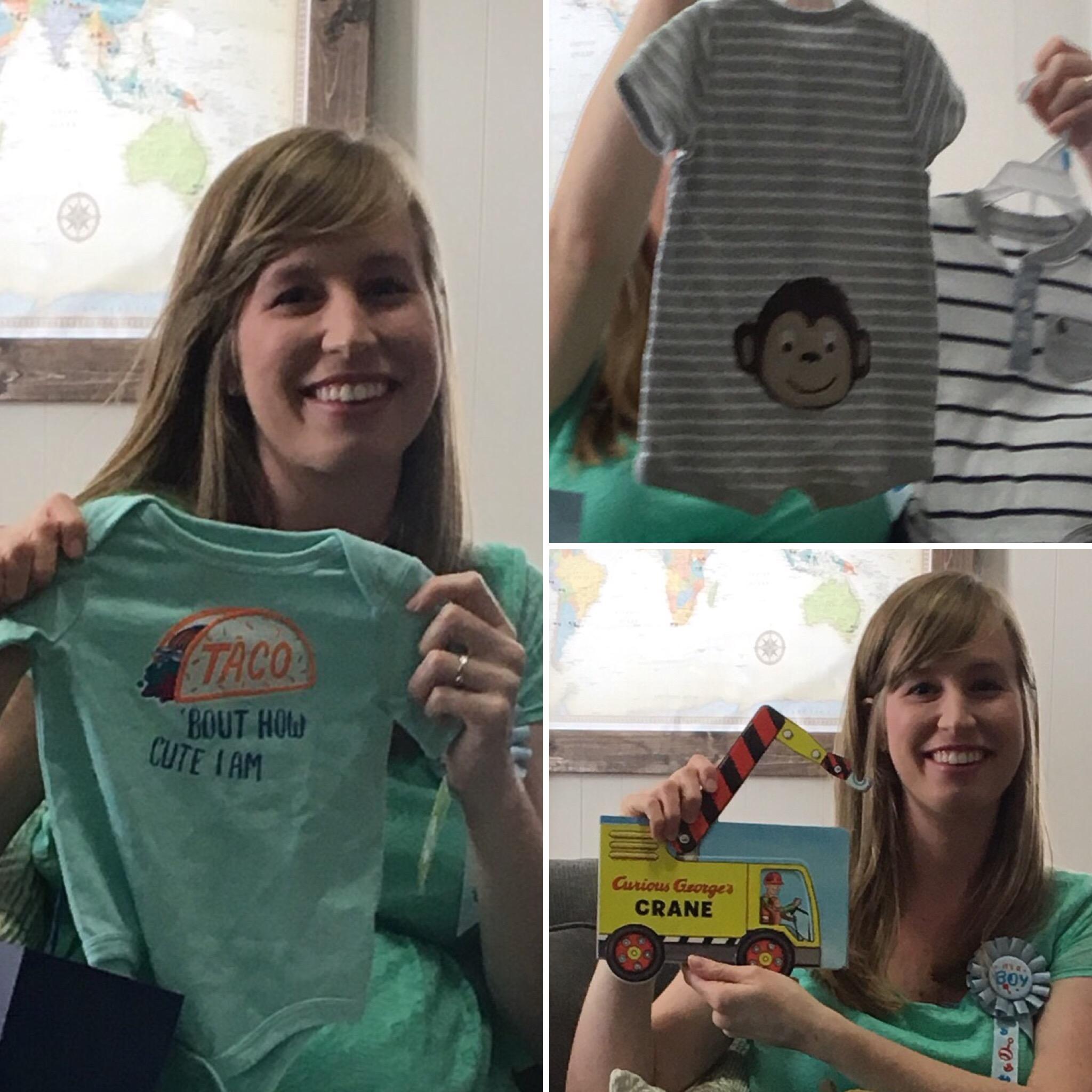 Baby Shower gift pics
